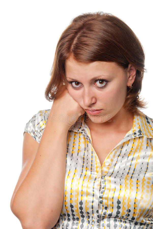 Download Girl Is Boring Stock Images - Image: 15198014