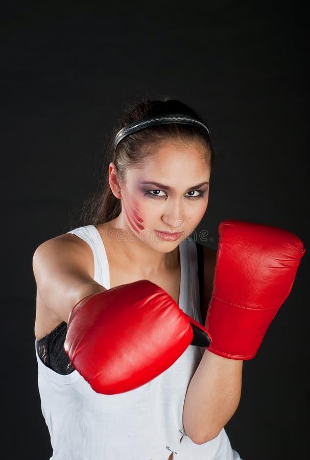 Download Girl Boxer Royalty Free Stock Photos - Image: 13439628