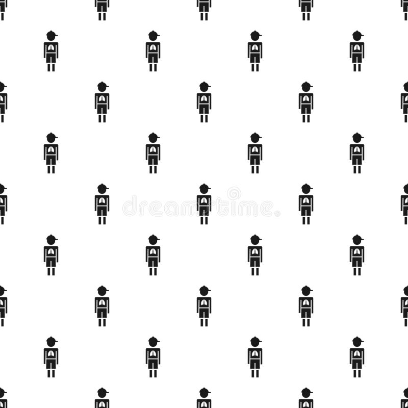 Girl boy pneumonia virus pattern seamless vector vector illustration
