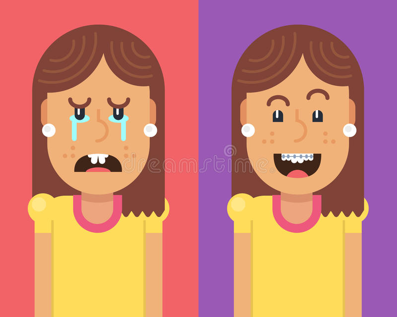 Girl Braces Stock Illustrations 365 Girl Braces Stock