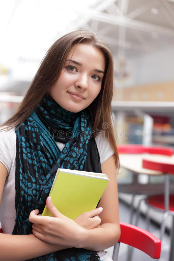 Download Girl in campus stock image. Image of children, learning - 25249693