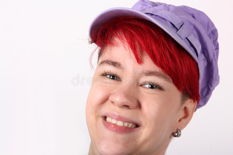 Download Girl with cap stock photo. Image of girl, isolated, celebration - 28125794