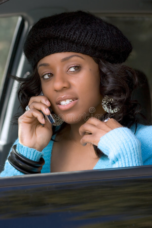 Download Girl with cellphone stock photo. Image of communications - 1915010