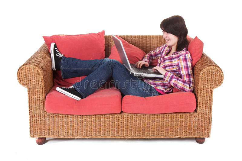 Download Girl Chatting With Her Friends Stock Image - Image: 18662157