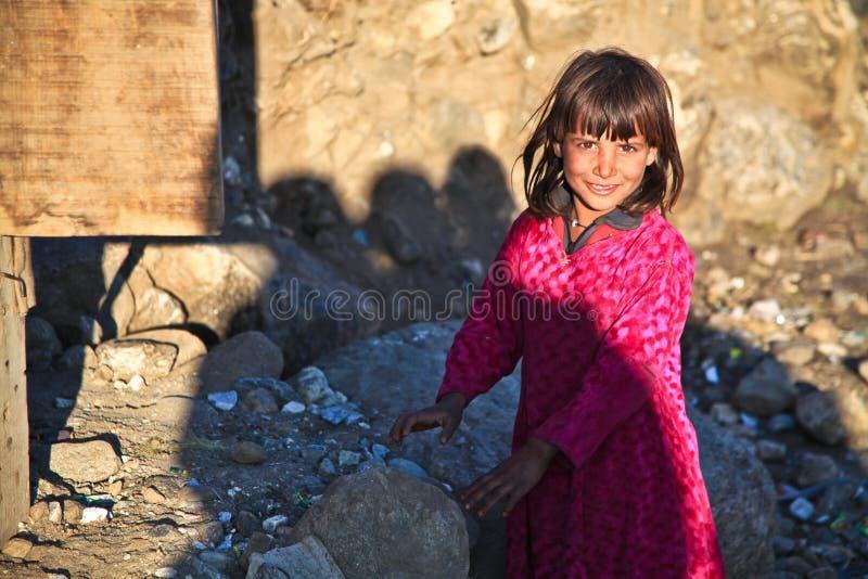 Girl, Child, Fun, Smile stock image