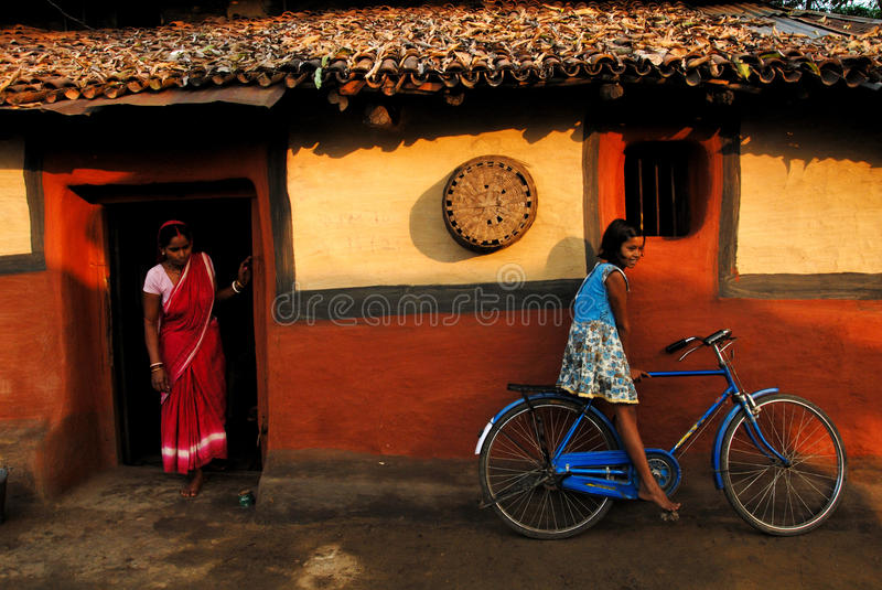 Girl Child In India Editorial Photography