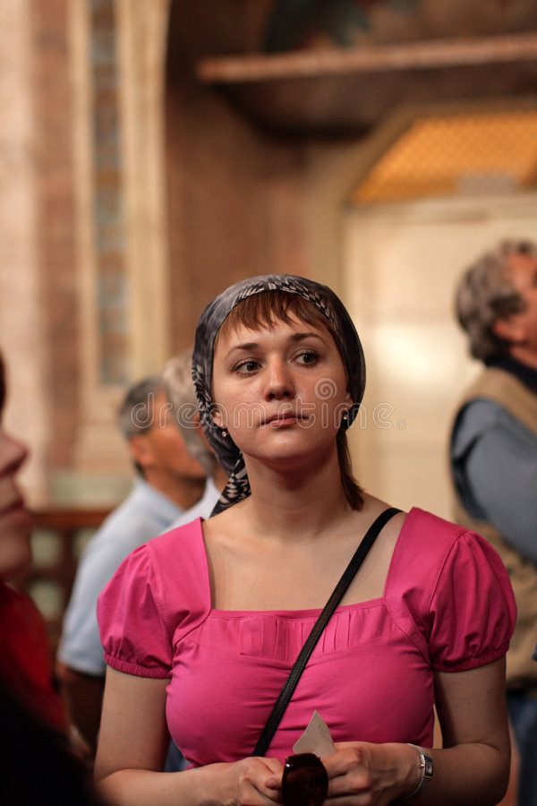 Download Girl in church stock photo. Image of love, person, face - 5534412