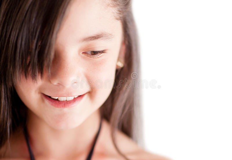 Download Girl close-up stock photo. Image of female, cute, happy - 24917064