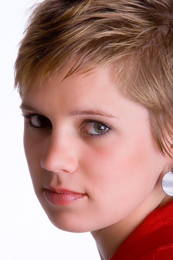 Girl close-up royalty free stock photos