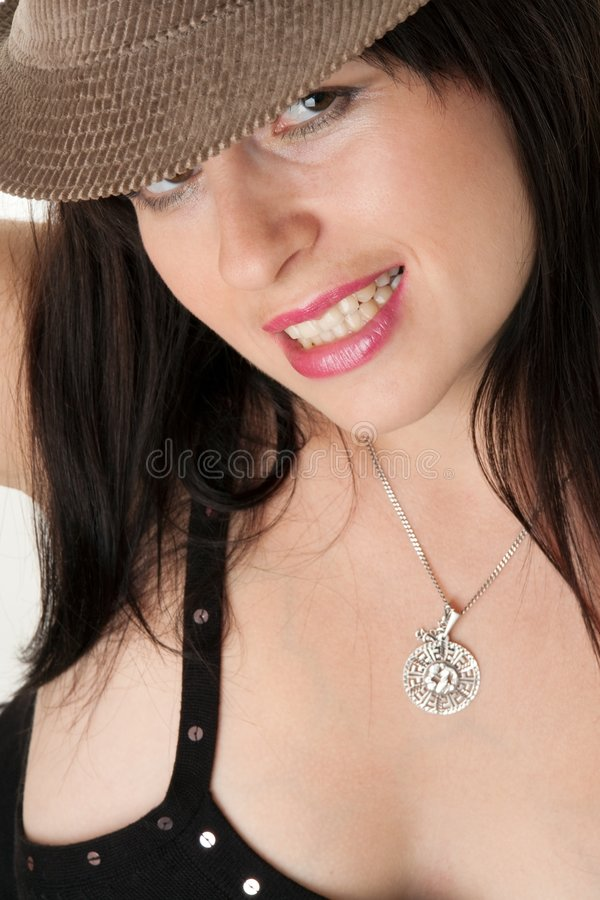 Girl close up. royalty free stock images