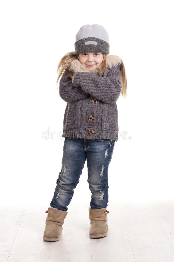 Download Girl Cold Stock Photography - Image: 28699502
