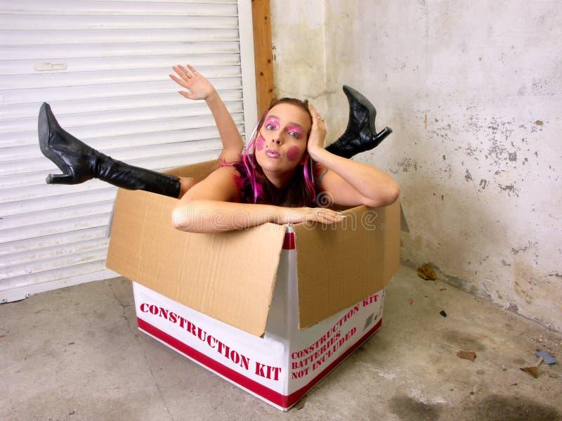Download Girl construction kit. stock image. Image of joke, humor - 29240265