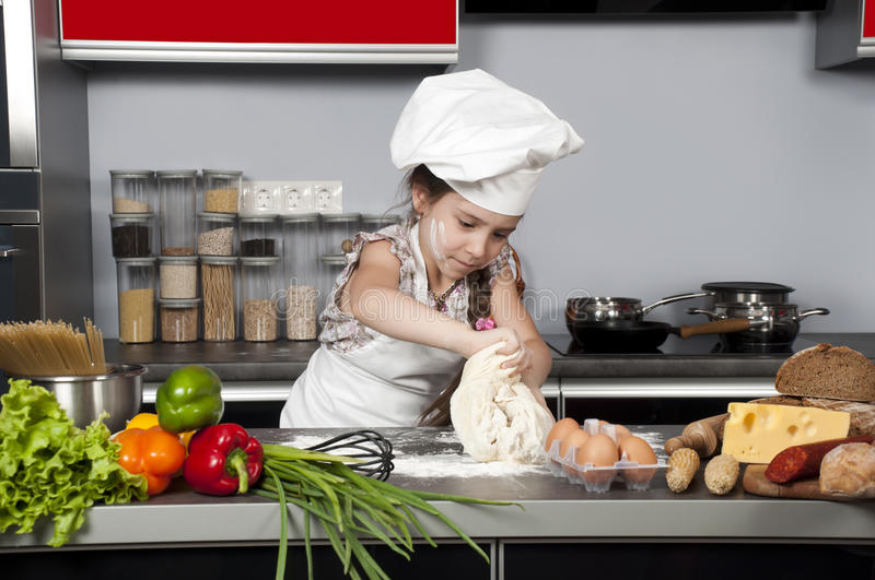 Download Girl cook stock image. Image of chef, lifestyles, lunch - 19932001