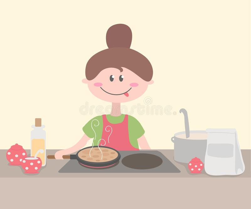 Vector Stock - Cartoon chefs cooking. Clipart Illustration gg78449335 -  GoGraph