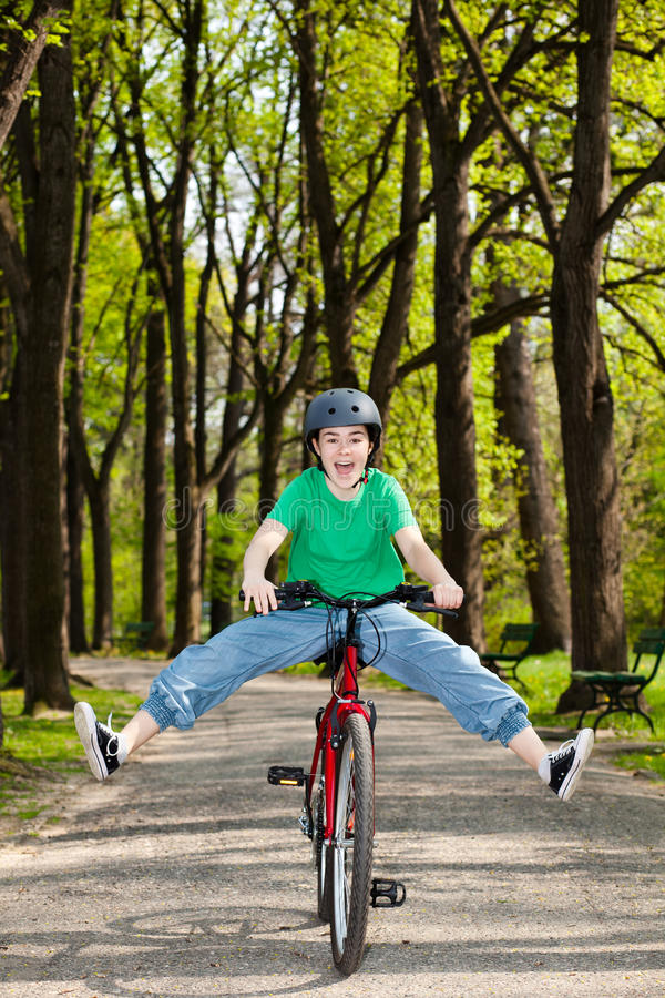 Download Girl cycling stock photo. Image of daytime, caucasian - 23927288