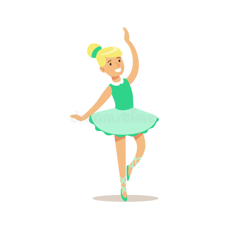 girl dancing ballet creative child practicing arts in art class rh dreamstime com kid ballet dancer clip art
