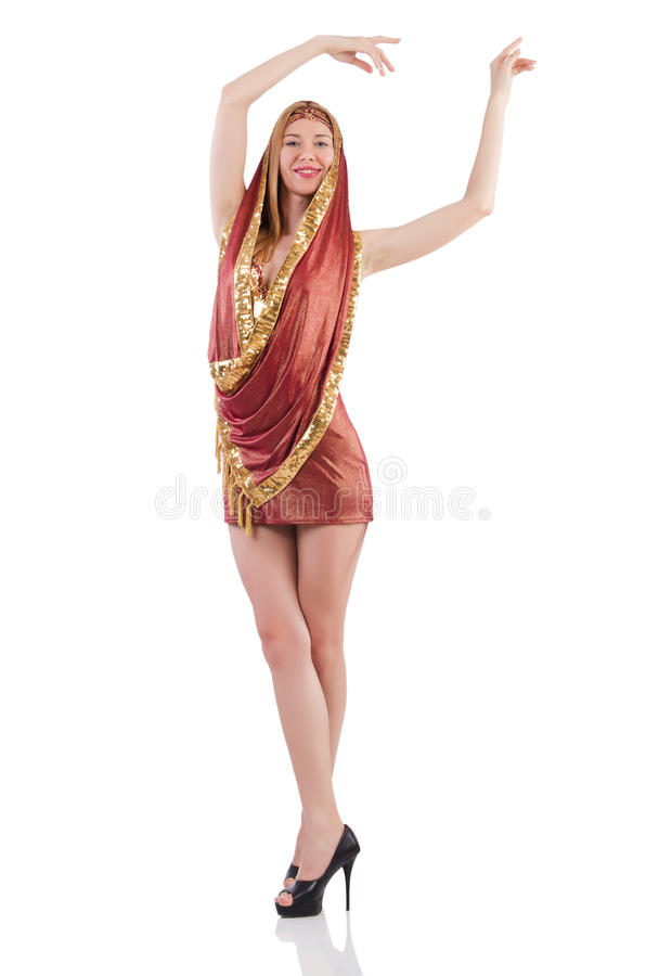Download Girl Dancing Belly Dance Stock Photo - Image: 34468980