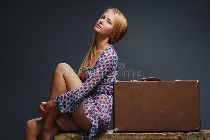 Download Girl dark stock image. Image of glamour, glamor, background - 10369873