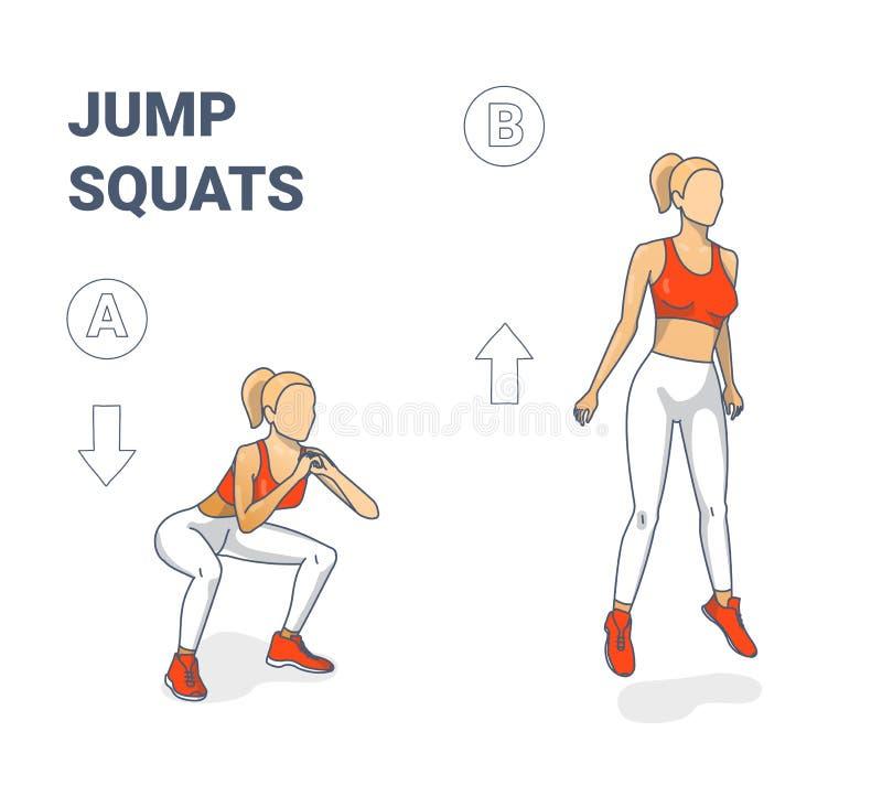 Jump Squat Stock Illustrations – 169 Jump Squat Stock Illustrations,  Vectors & Clipart - Dreamstime