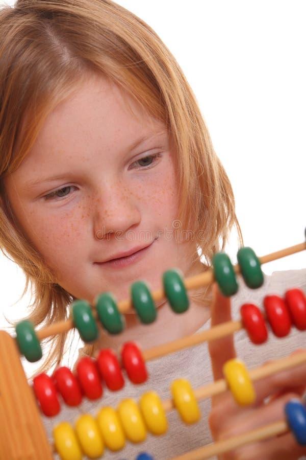 Download Girl Doing Maths Stock Image - Image: 20513031