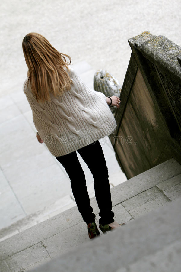 Download Girl Downstairs Stock Photos - Image: 15174453