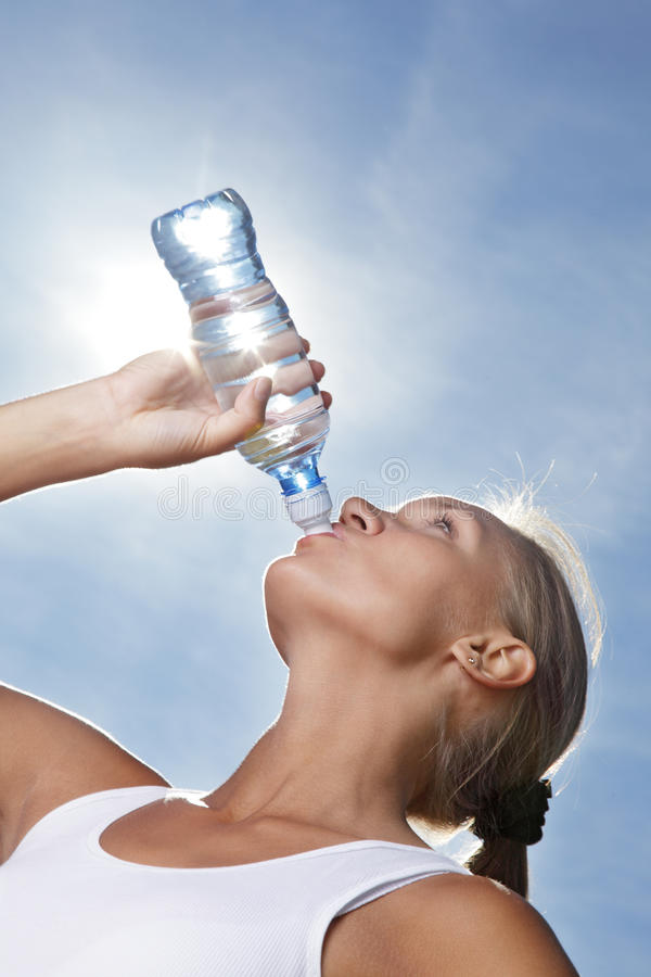 Free Girl Drink Water Stock Images - 20749464