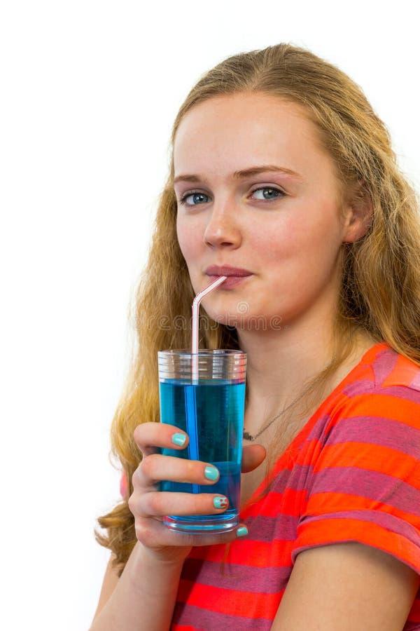Girls drinking cum through a straw shall