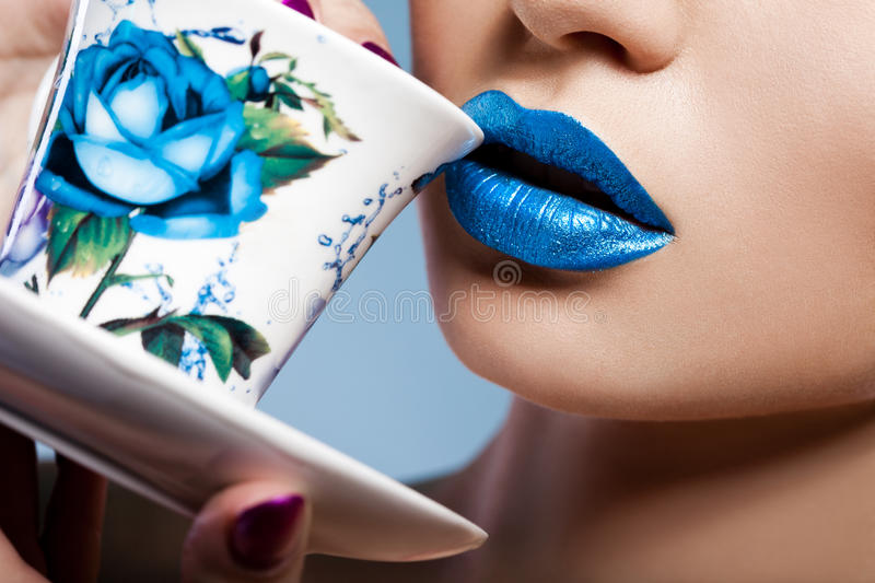 Download Girl Drinking From Cup Stock Photo - Image: 29028760