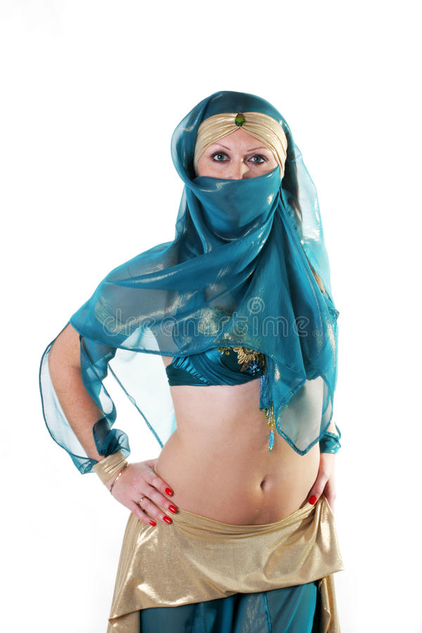 Download Girl in east suit stock photo. Image of belly, bright - 11801098