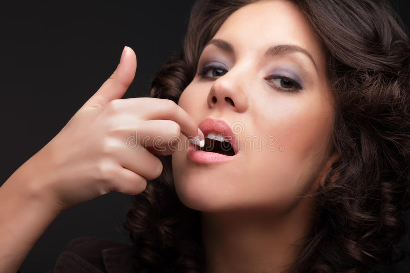 Download Girl Eating Ice Cream Stock Images - Image: 23239314