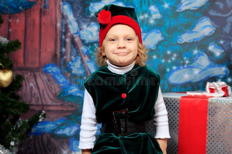 Download Girl elf stock photo. Image of snowflake, people, emotional - 22355662