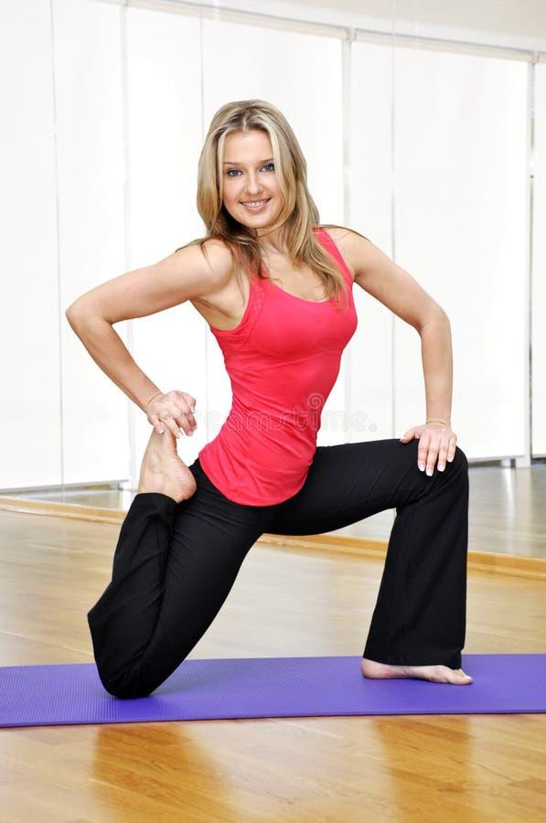 Download Girl Exercising Stock Image - Image: 22191591