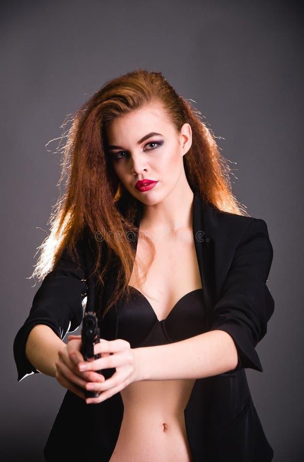 Free Girl Fashion Shoot In The Studio Stock Photo - 89320670