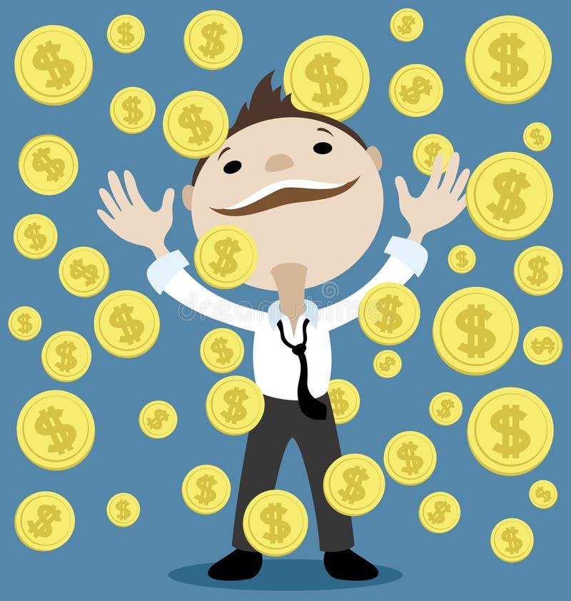 Download Girl Finanziario Tiene Un Pacchetto Di Piacere Dei Dollari Illustrazione Vettoriale - Illustrazione di illustrazione, arancione: 56891048