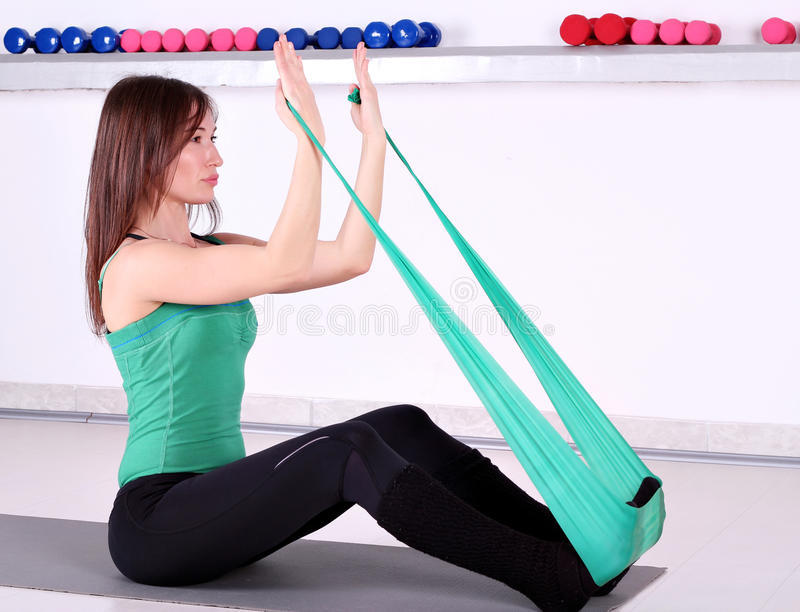 Download Girl Fitness Exercise Stock Photo - Image: 24624700