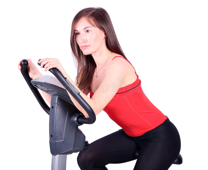 Download Girl fitness exercise stock image. Image of action, beautiful - 27939871