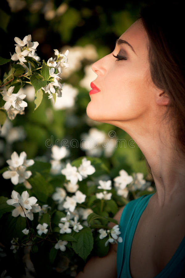 Download Girl And Flowers Stock Photos - Image: 25402763