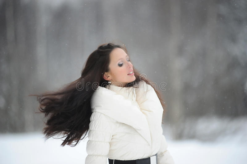 Download Girl With Flowing Hair Royalty Free Stock Photos - Image: 17192488