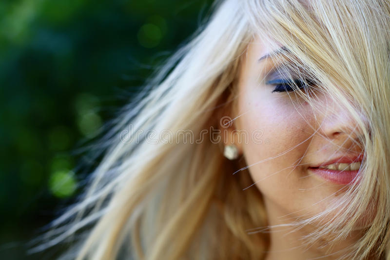 Download Girl in the forest stock image. Image of person, female - 20178893