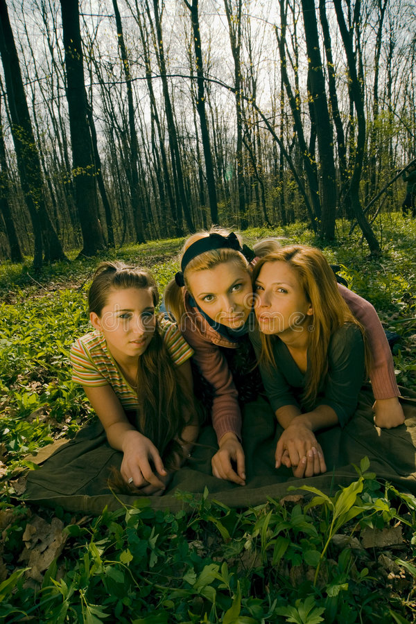 Download Girl In The Forest Stock Photos - Image: 2505303