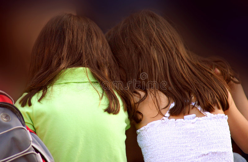 Girl Friends royalty free stock image
