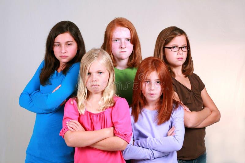 Girl Gang Stock Image Image Of Children, Individual, Blonde - 6691791-9492