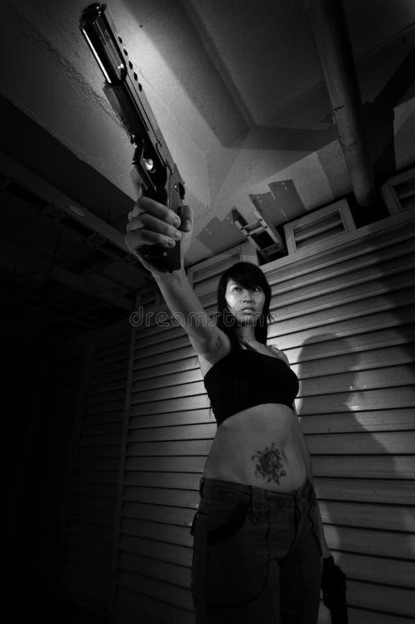 Girl Gangs stock images