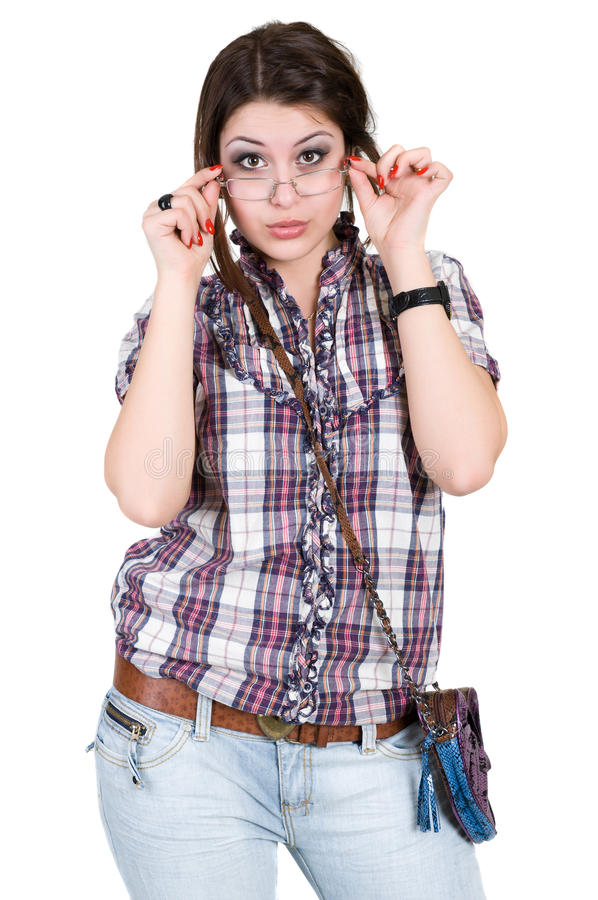 Download Girl In Glasses Stock Photography - Image: 19259622