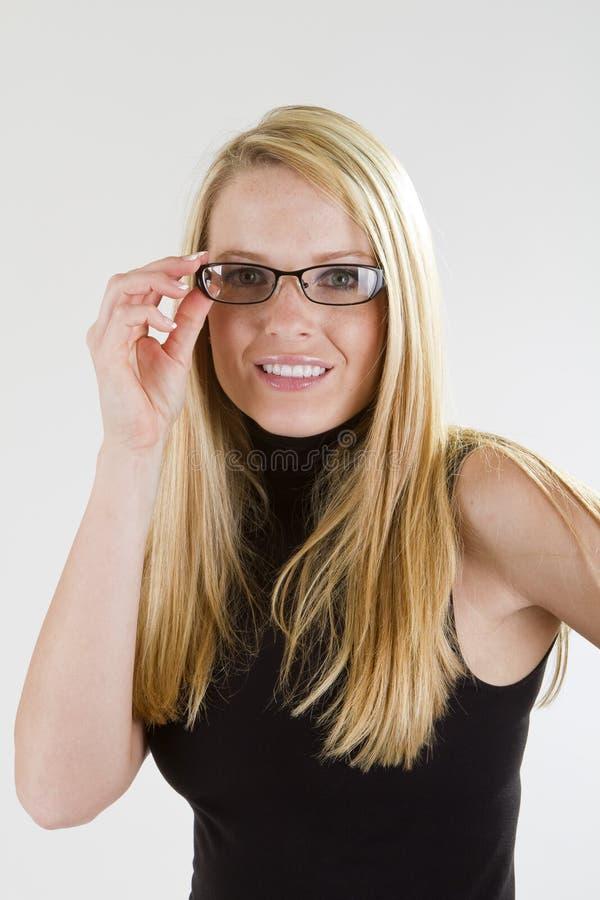 Download Girl in Glasses stock photo. Image of caucasian, pretty - 25903666