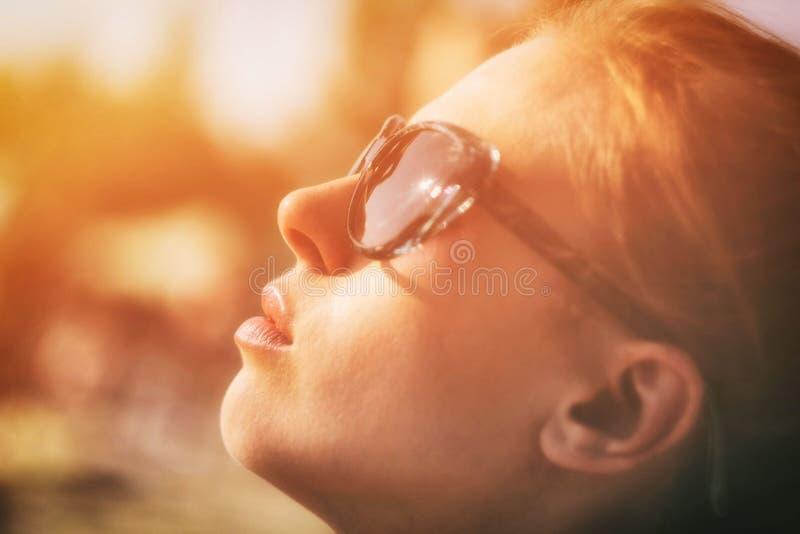 Girl In Golden Light Free Public Domain Cc0 Image