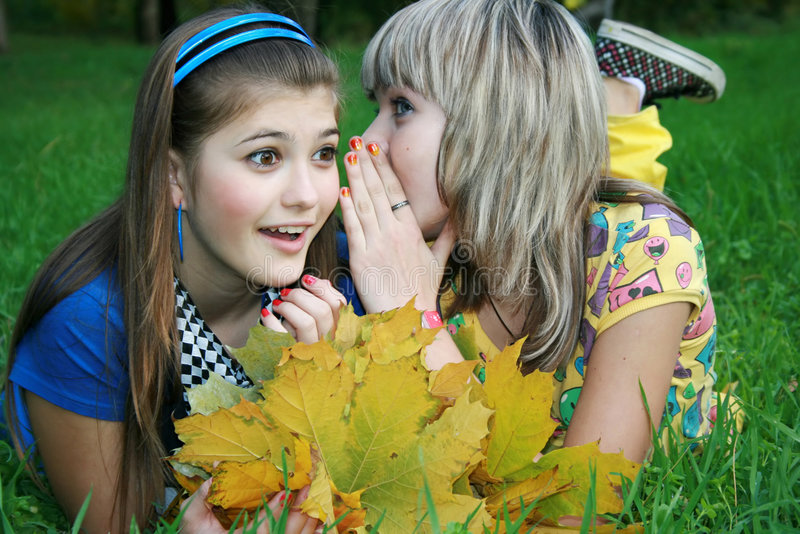 Download Girl gossip stock image. Image of ladies, human, enjoyable - 8400375