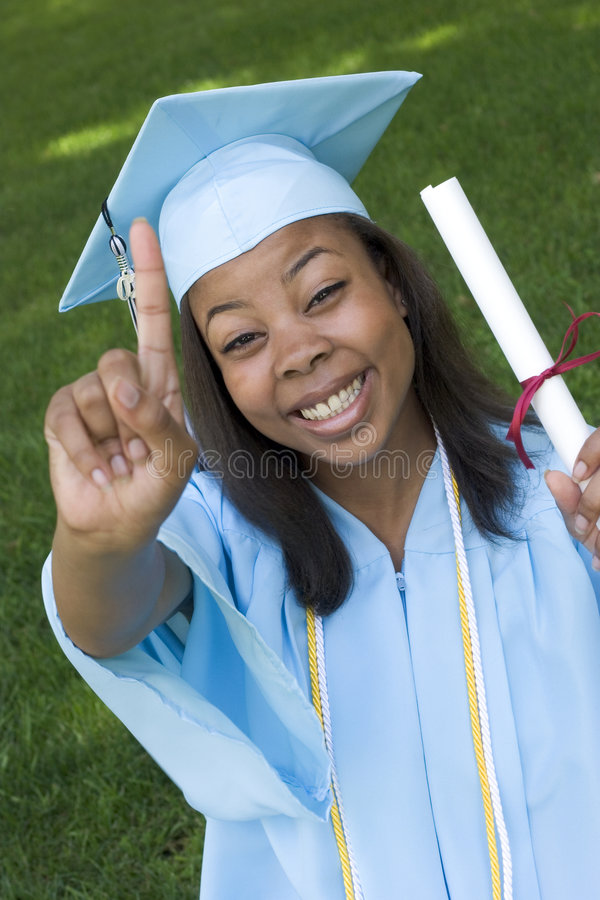 Girl Graduate royalty free stock images