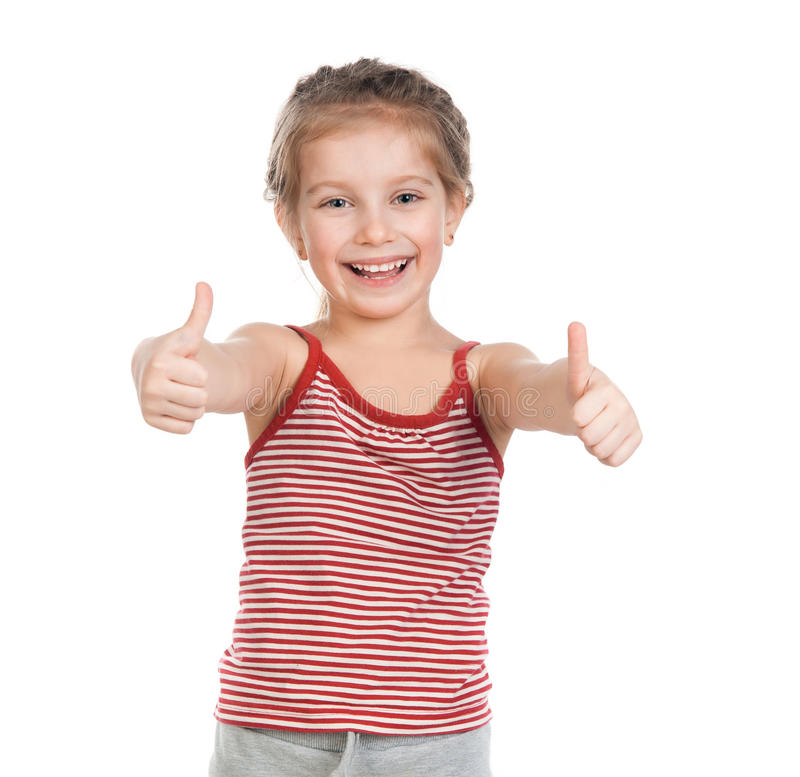 Download Girl gymnast stock photo. Image of child, lifestyle, little - 25048172