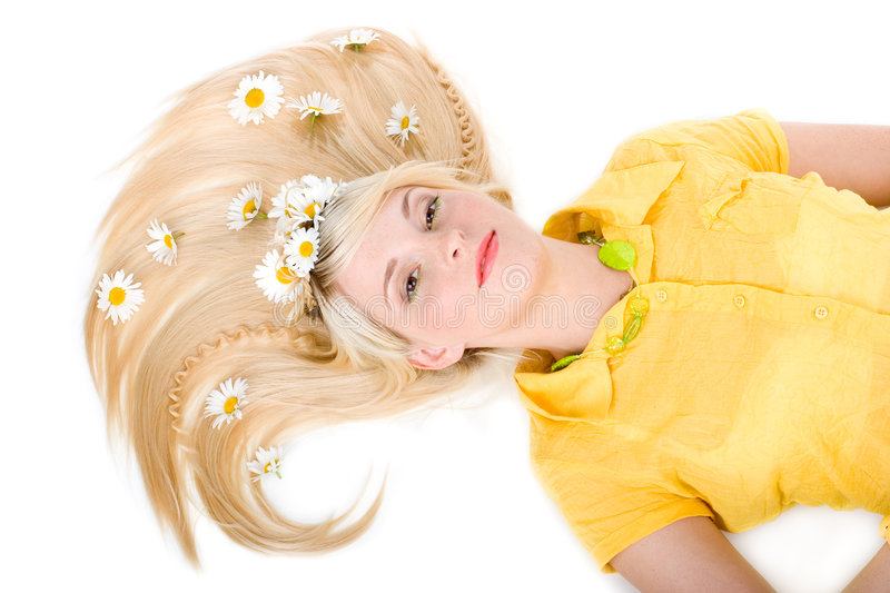 Download Girl With A Haircut Stock Photos - Image: 5792673